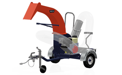SU40 Vacuum unit for clearing leaves and litter