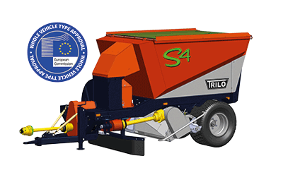 Medium-sized S4 cut and collect grass clippings and FOD